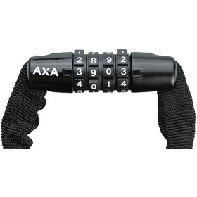Axa Rigid Code Cykellås 120cm sort